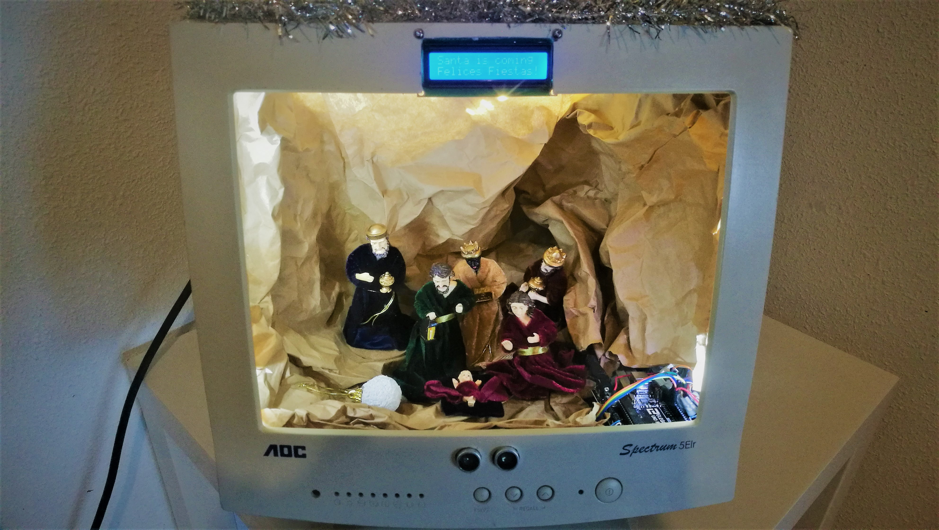 Nativity computer Arduino